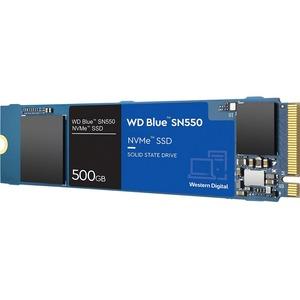 WD Blue SN550 WDS500G2B0C 500 GB Solid State Drive - M.2 2280 Internal - PCI Express NVMe (PCI Express NVMe 3.0 x4) - Desk