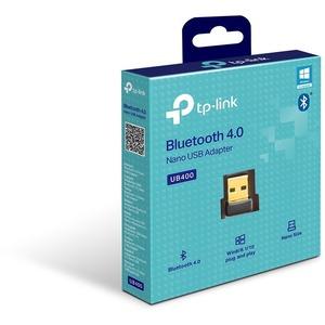 Adaptador Bluetooth TP-Link UB400 - Bluetooth 4.0 para Computadora de escritorio/Notebook - USB 2.0 - Externo