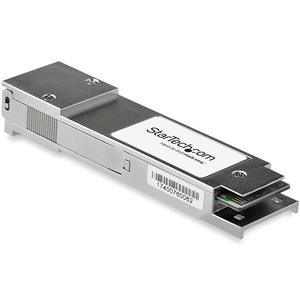 StarTech.com QSFP-40G-SR4-S-ST QSFP+ - 1 x MPO 40GBase-SR4 Network - For Optical Network, Data Networking - Optical Fiber