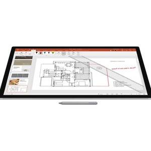 Microsoft Surface Pen Bluetooth Stylus - Platinum - Tablet, Notebook Device Supported