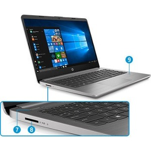 "Portátil - HP 340s G7 35,6 cm (14"") - Intel Core i5 10ma generación i5-1035G1 Quad-core (4 Core) 1 GHz - 16 GB RAM - 512 G"