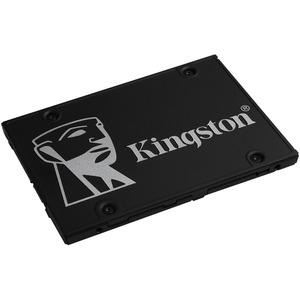 "Kingston KC600 2 TB Solid State Drive - 2.5"" Internal - SATA (SATA/600) - 3.5"" Carrier - Notebook, Desktop PC Device Suppo"