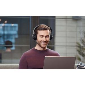 Jabra Evolve2 65 Wireless Over-the-head Stereo Headset - Black - Binaural - Supra-aural - Bluetooth - USB Type A