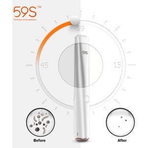 Sterilizzatore UV, 59S Sterilizzatore Portatile UV 3min Sterilizzazione Rapida 99,9% con 20 Perline Lampada a LED, Pieghev