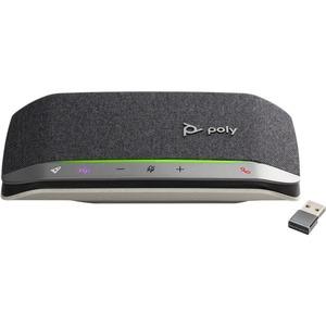 Vivavoce Poly Sync 20 20+ - Nero, Argento - USB - Microfono - USB, Batteria - Desktop