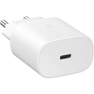 SAMSUNG TRAVEL ADAPTER 25W W/O CABLE TA 800 WHITE