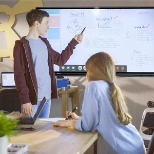 """Monitor de pantalla táctil LCD V7 Interactive IFP7502-V7 - 190,5 cm (75"""") - 16:9 - 8 ms - 1905 mm Class - Infrarrojos - 20"""