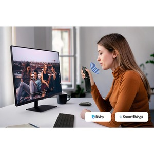 "Monitor LCD da gaming Samsung S27AM500NR 68,6 cm (27"") Full HD LED - 16:9 - Nero - 685,80 mm Class - Vertical Alignment (V"