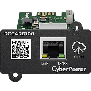 CyberPower RCCARD100 CyberPower Cloud Monitoring Card - Black 3YR Warranty - Hardware & Accessories