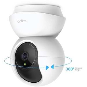 Tapo TAPO C210 3 Megapixel HD Network Camera - 9.14 m Night Vision - H.264 - 2304 x 1296 Fixed Lens - CMOS - Alexa, Google