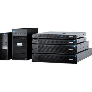 Milestone Systems Husky IVO 700R 100 Channel Wired Video Surveillance Station 32 TB HDD - Video Storage Appliance - Full H