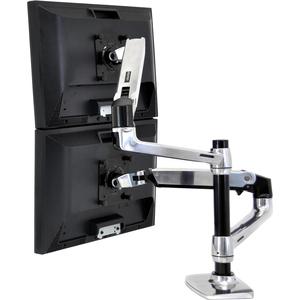 Ergotron 45-248-026 Mounting Arm for Notebook - 18.14 kg Load Capacity - 75 x 75, 100 x 100 VESA Standard