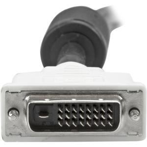 StarTech.com 3m DVI-D Dual Link Cable - Male to Male DVI-D Digital Video Monitor Cable - 25 pin DVI-D Cable M/M Black 3 Me