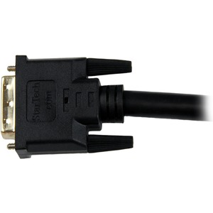 StarTech.com HDDVIMM10M 10 m DVI/HDMI Video Cable for Monitor, TV, Video Device, Projector, LCD TV, Plasma, HDTV, DVD Play