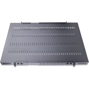 "StarTech.com 1U Adjustable Vented Server Rack Mount Shelf - 250lbs - 19.5 to 38in Deep Universal Tray for 19"" AV/ Network"