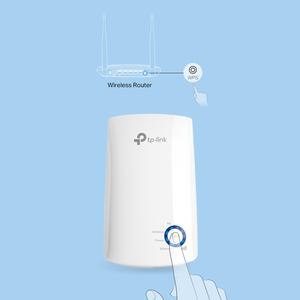 Extensor de alcance inalámbrico TP-Link TL-WA850RE - IEEE 802.11n - 300 Mbit/s - 1 x Red (RJ-45) - Ethernet, Fast Ethernet