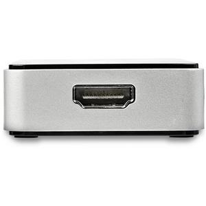 StarTech.com USB 3.0 to HDMI External Video Card Adapter - 1 Port USB Hub - 1080p - External Graphics Card for Laptops - U
