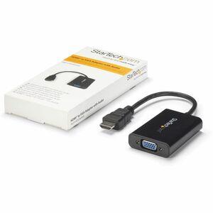 StarTech.com Adattatore convertitore video HDMI a VGA con Micro USB e audio per PC desktop/laptop/ultrabook - 1920x1200 -
