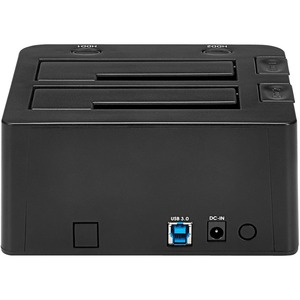 StarTech.com USB 3.0 Dual Hard Drive Docking Station with UASP for 2.5/3.5in SSD / HDD - SATA 6 Gbps - 2 x HDD Supported -