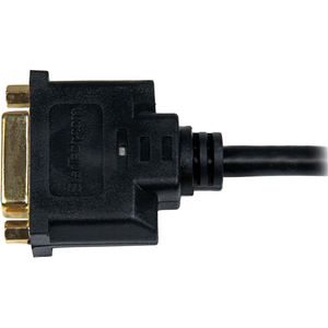 StarTech.com 20.32 cm DVI/HDMI Video Cable for Video Device, Monitor, Notebook - First End: 1 x HDMI Male Digital Audio/Vi