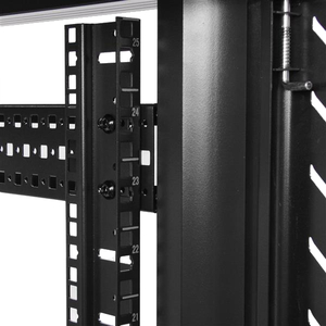 StarTech.com 25U 36in Knock-Down Server Rack Cabinet with Casters - Easy to transport and Quickly Assembles - 801.95 kg Ma