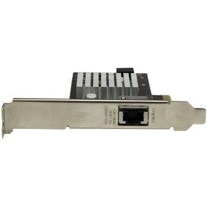 StarTech.com Tarjeta de Red Ethernet de 1 Puerto con 10G - con Chipset Intel X550-AT - Tarjeta 10GBase-T / NBASE-T - PCI E