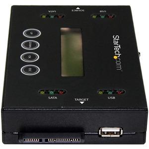 "StarTech.com Duplicatore ed Eraser per Flash Drive USB e Drive SATA da 2,5""/3,5"""