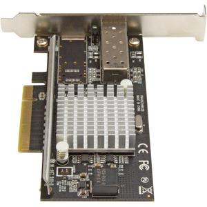 StarTech.com 10Gigabit Ethernet Card for Server - 10GBase-SR - SFP+ - Plug-in Card - PCI Express x8 - 2.50 GB/s Data Trans