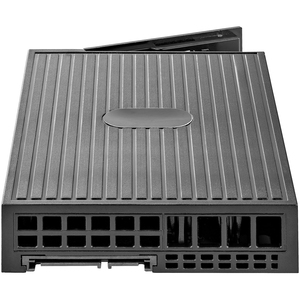 "StarTech.com Drive Bay Adapter for 3.5"" - Serial ATA/600 Host Interface Internal - Black - 1 x HDD Supported - 1 x SSD Sup"