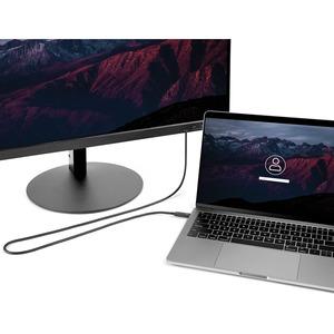 StarTech.com Thunderbolt 3 Cable - 6 ft / 2m - 4K 60Hz - 40Gbps - USB C to USB C Cable - Thunderbolt 3 USB Type C Charger