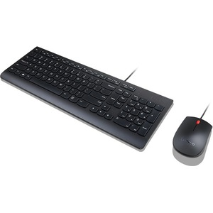 ELENOVO ESSENTIAL WIRED KEYBOARD AND MOUSE COMBO - US ENGLISH