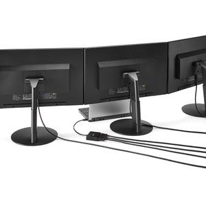 StarTech.com Hub USB-C DisplayPort a 3 porte collegabile a Margherita - Hub Splitter MST Tipo-C a DP per Monitor - 3840 ×