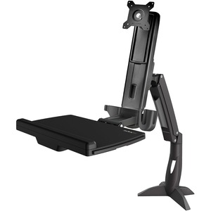 "StarTech.com Mounting Arm for Monitor, Keyboard - Black - TAA Compliant - 1 Display(s) Supported86.4 cm (34"") Screen Suppo"