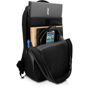 "V7 Essential CBK1-BLK-9E Carrying Case (Backpack) for 39.6 cm (15.6"") Notebook - Black - Polyester - Shoulder Strap"