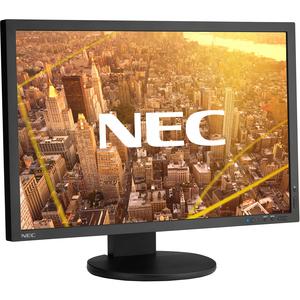 """NEC Display MultiSync PA243W 61 cm (24"""") WUXGA GB-R LED LCD Monitor - 16:10 - Black - 609.60 mm Class - 1920 x 1200 - 1.07"""