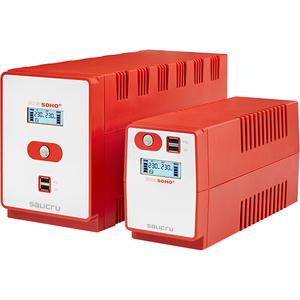 SAI de línea interactiva Salicru SPS SOHO+ SPS 850 SOHO+ - 850 VA/480 W - Torre - 4 Hora(s) Tiempo de Recarga de Batería -