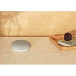 Smart Speaker Google Home Mini Bluetooth - Google Assistant Supportati - 360° Circle Sound - LAN wireless - USB