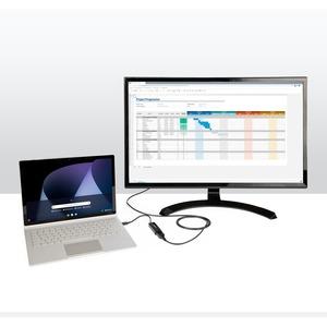 StarTech.com Cable DisplayPort 1.4 de 2m VESA 8K@60Hz HBR3 HDR - Extremo prinicpal: 1 x Macho Audio/Vídeo digital - Extrem