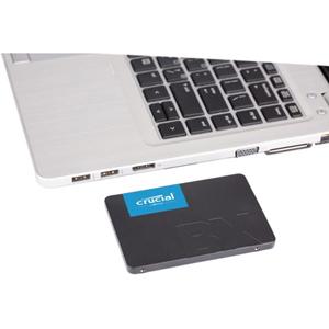 """Unidad de estado sólido Crucial BX500 - 2.5"""" Interno - 480GB - SATA (SATA/600) - 540MB/s Tasa de transferencia de lectura"""