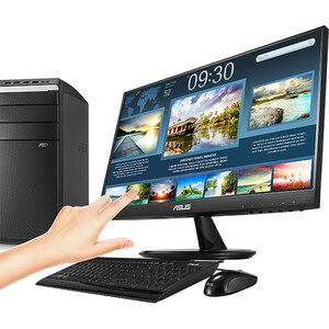 """Monitor LCD Touchscreen Asus VT229H - 54,6 cm (21,5"""") - 16:9 - 5 ms GTG - Schermo multi-touch - 1920 x 1080 - Full HD - 16"""
