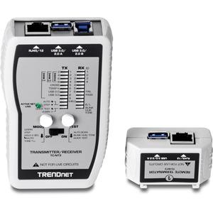 Analizzatore Cavo TRENDnet TC-NT3 - Testing cablaggio con coppia intrecciata, Test di corto circuito, Pair testing incroci