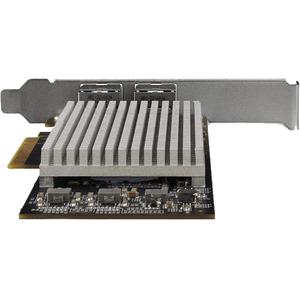 StarTech.com 10Gigabit Ethernet Card for Server/Switch/Computer/Workstation/Access Point - PCI Express 2.0 x8 - 2 Port(s)