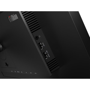 THINKVISION P27H-20 27IN QHD(16:9) ADJUST TILT SWIVEL PIVOT IN(HDMI+DP+USB-C) SPK, OUT(DP+AUDIO+4X USB3.1) CABLES(USB-C TO