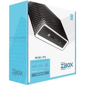 Zotac ZBOX nano ZBOX-CI622NANO-BE Desktop Computer - Intel Core i3 10th Gen i3-10110U 2.10 GHz DDR4 SDRAM - Mini PC - Inte