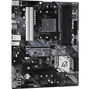 ASRock B550 Phantom Gaming 4 Desktop Motherboard - AMD Chipset - Socket AM4 - ATX - 128 GB DDR4 SDRAM Maximum RAM - DIMM,