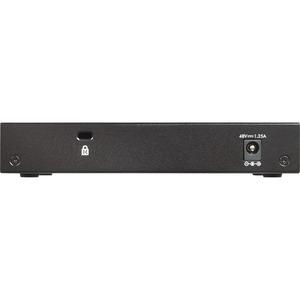 Switch Ethernet Netgear GS305P 5 Porte - 2 Layer supportato - 63 W PoE Budget - Coppia incrociata - PoE Ports - Desktop, P