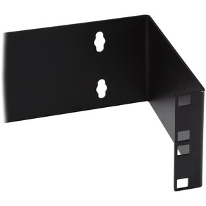 """StarTech.com 2U Hinged Wall Mount Patch Panel Bracket - 6 inch Deep - 19"""" Patch Panel Swing Rack for Shallow Network Equip"""