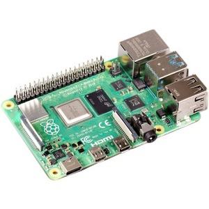Raspberry Pi Single Board Computer for LCD Display, Monitor - Module - Broadcom - Cortex A72 - BCM2711 - Quad-core (4 Core