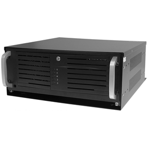 StarTech.com Wall-Mount Server Rack - Low-Profile Cabinet for Servers with Vertical Mounting - 4U - 27.76 kg Maximum Weigh