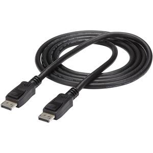 StarTech.com Cavo DisplayPort 1.2 certificato di 1,8 m con scatto- DisplayPort 4K - M/M - Estremità 1: 1 x 20-pin DisplayP